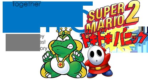 Together Retro Game Club: Super Mario Bros  2 / Doki Doki