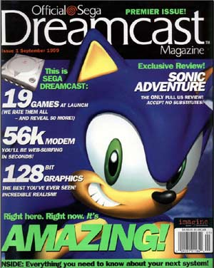 PDF: Official Dreamcast Magazine - Issue #1 - September 1999