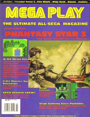 PDF: Mega Play #1 - Early Sega-Only Magazine - RetroGaming with