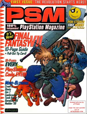 PDF: Playstation Magazine #1 - September 1997 - RetroGaming with