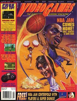 PDF: Video Games Magazine - February 1994 - RetroGaming with Racketboy